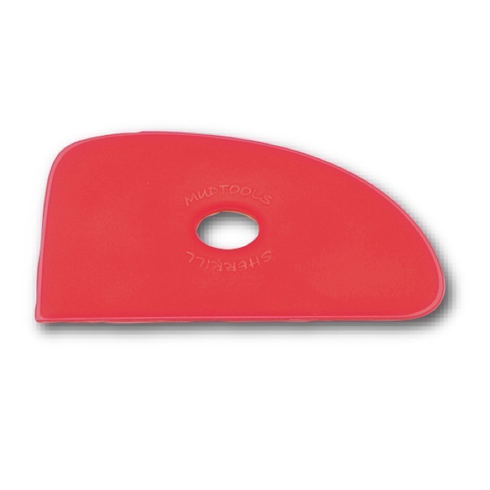 Mudtool Rib red Nr.4