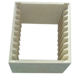 Support multi-dalles pour 10 carreaux 15x15cm2