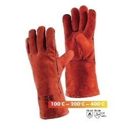 heat gloves Sebatan leather 200°C l=20cm
