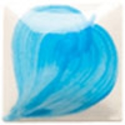 Brush-on color Duncan EZ Neon blue