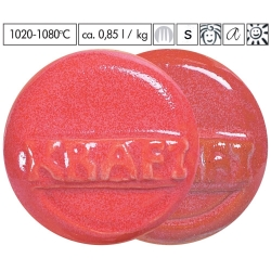 Glaze raspberry red 1020-1080°C