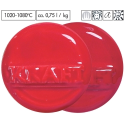 Gl. red brilliant 1020-1080°C