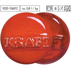 Glaze Blood orange effect 1020-1080°