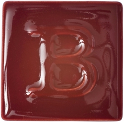 Liquid Glaze Botz cherry red