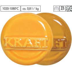 Gl. yellow -orange 1020-1080°