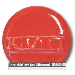 Stoneware glazes red brilliant  -uni- 1220-1260°C
