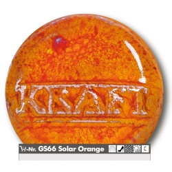 Stoneware glazes solar orange 1220-1250°