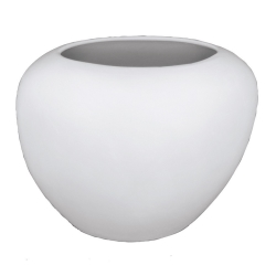 M.. Giessf. Ovale Flache Vase 21cm
