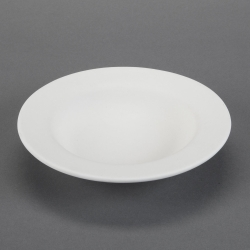Pasta Bowl with Rim d.21,9cm, h.5cm