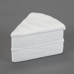 Piece-of-cake Box l.12cm, h.6cm