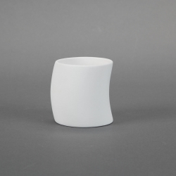 Cup inclined H.8,5cm D.12,5cm (3)