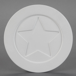 "Plate ""Pop Star"" with Star d.21cm"