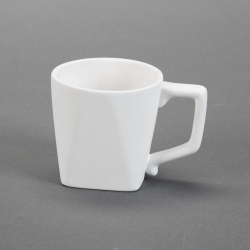 "Mug ""Chef"" squared Handle h.8,7cm, l.1"
