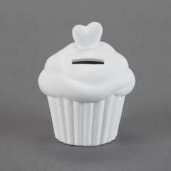 Muffin Money-Saving-Box d.8,7cm h.10cm