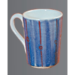 Mug slightly angular 7cm h=10cm (3)