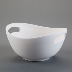 Cup with handles mid l.20,7cm, b.19cm