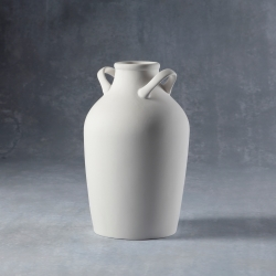 jar with 2 handles h.20cm