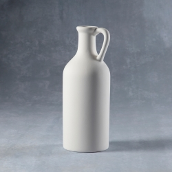 jar with long neck h.22cm
