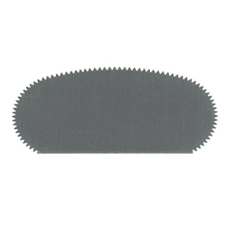 Rib spring-steel serrated 100mm (=W172)