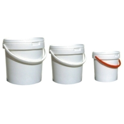 Plastic-Bucket/Lid 2,5l/200mm/h=119