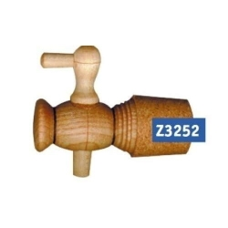 Wood-Tap 85 mm with cork-ring