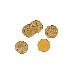 Cork-Pad h=2mm, dm=10mm about 100 Pc