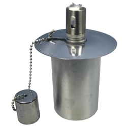 Garden-Lamp Burner metal with wick small