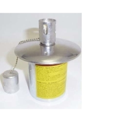 Garden-Lamp Burner metal with wick large